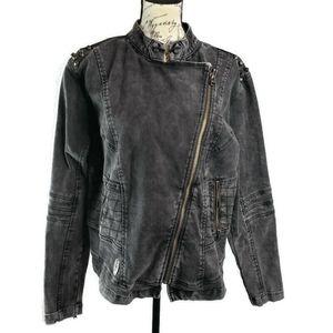 Harley Davidson 2XL jean moto jacket